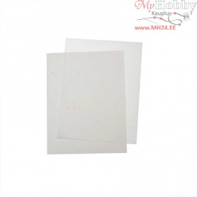 Transfer Sheet, sheet 21,5x28 cm, white, inkjet printer, 12sheets