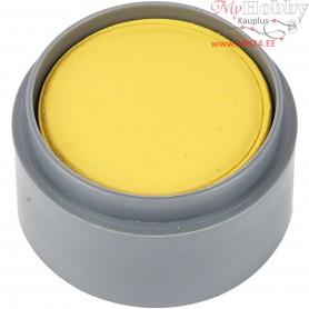 Water-based Face Paint, yellow, 15ml