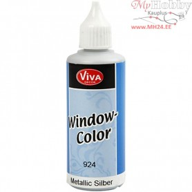 Window Color, silver, 80ml