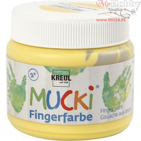 Finger Paint, yellow, 150ml