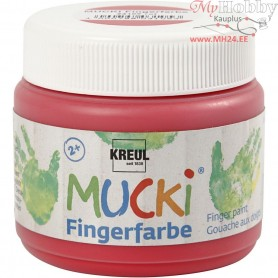 Finger Paint, red, 150ml