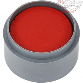 Water-based Face Paint, clear red, 15ml