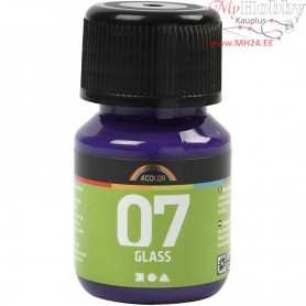 A-Color Glass Paint, red/violet, 30ml
