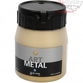 Art Metalic Paint, light gold, 250ml