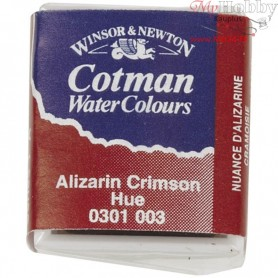 Cotman Watercolour, alizarin crimson hue, 1pc