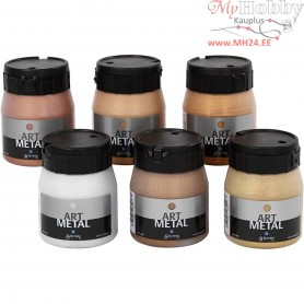 Art Metalic Paint, 6x250ml