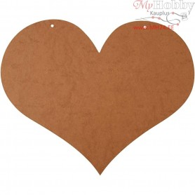 Heart, size 50x40 cm, thickness 5 mm, MDF, 1pc