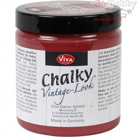 Chalky vintage look, bordeaux (404), 250ml