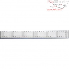 Ruler With Metal Edge, L: 30 cm, 1pc