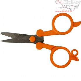 Classic Foldable Scissors, L: 10 cm, 1pc