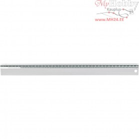 Safety Ruler, L: 40 cm, 1pc