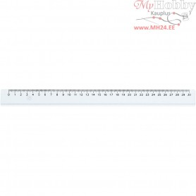 Ruler, L: 30 cm, 1pc