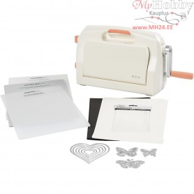 Starter kit - Die Cut and Embossing Machine, A4 21x30 cm, sheet max 21 cm width, 1set