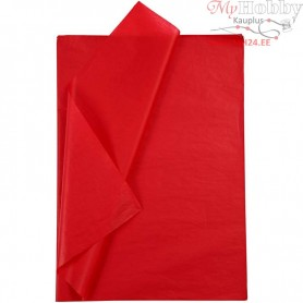 Tissue Paper, sheet 50x70 cm,  14 g, red, 25sheets