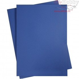 Card, A2 420x600 mm,  180 g, midnight blue, 10sheets