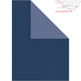 Card, A4 210x297 mm,  250 g, dark blue/light blue, 10sheets