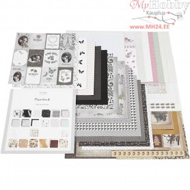Design Paper Pad, size 30,5x30,5 cm,  50 pages, 50sheets
