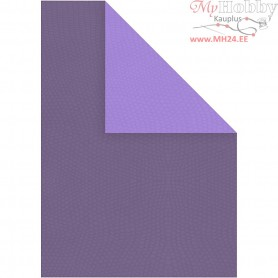 Card, A4 210x297 mm,  250 g, lilac/dark lilac, 10sheets