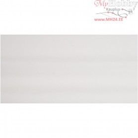 Crepe Paper,  50x250 cm, white, 10pleats