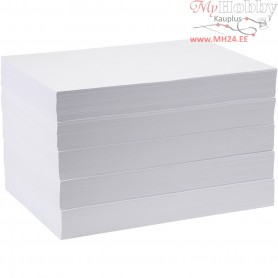 Drawing Paper, A3 297x420 mm,  80 g, white, 5x500sheets