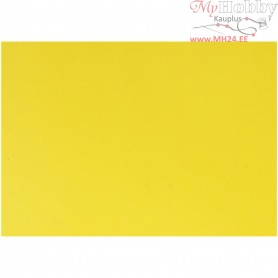 Glazed Paper, sheet 32x48 cm,  80 g, yellow, 25sheets