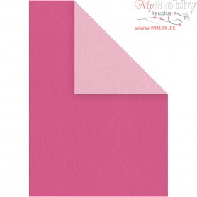 Card, A4 210x297 mm,  250 g, pink/rose, 10sheets