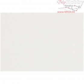 Construction Card, sheet 25,5x36 cm,  250 g, white, 0.4 mm, 100sheets, 0,4 mm