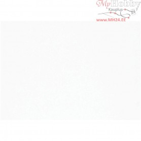 Construction Card, sheet 51x72 cm,  250 g, white, 0.4 mm, 100sheets, 0,4 mm