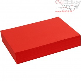 Creative Paper, A4 210x297 mm,  80 g, red, 500sheets