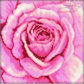 RTO Pink rose - Counted Cross Stitch Kit, Art: C070