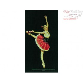 RTO Ballerina - Counted Cross Stitch Kit, Art: C097
