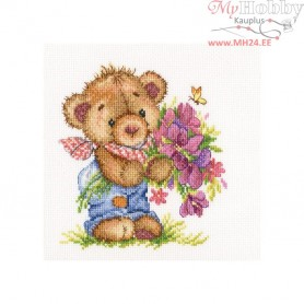 RTO Giving you flowers - Counted Cross Stitch Kit, Art: C266
