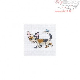 RTO Curious Lucy - Counted Cross Stitch Kit, Art: H230