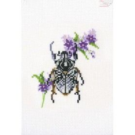 RTO Bug on lungwort - Counted Cross Stitch Kit, Art: EH367
