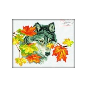 RTO Wolf - Counted Cross Stitch Kit, Art: M111