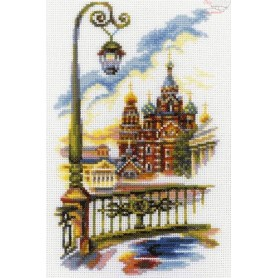 RTO Church of the Savior on Blood, St. Petersburg - Counted Cross Stitch Kit, Art: M295