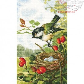 RTO On a briar branch - Counted Cross Stitch Kit, Art: M453