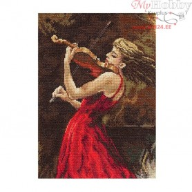 RTO Violinist - Counted Cross Stitch Kit, Art: M440