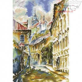RTO Watercolor Prague - Counted Cross Stitch Kit, Art: M361