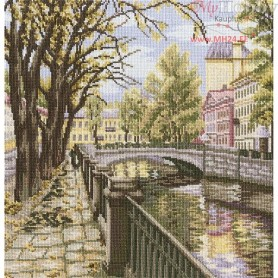RTO Channels of St. Petersburg - Counted Cross Stitch Kit, Art: M423