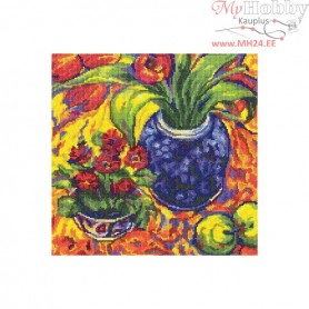 RTO Flowers and fruit - Counted Cross Stitch Kit, Art: M496