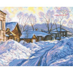 RTO Wintry day - Counted Cross Stitch Kit, Art: M534