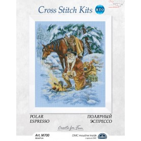 RTO Polar espresso - Counted Cross Stitch Kit, Art: M700