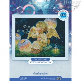 RTO Sky lanterns - Counted Cross Stitch Kit, Art: M674