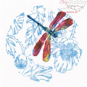 RTO Dance of dragonflies - Counted Cross Stitch Kit, Art: M70022