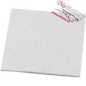 Canvas Panel, size 10x10 cm, thickness 3 mm, 280 g, 1pcs