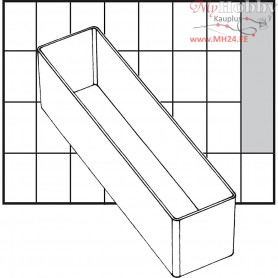 Insert Box, size 163x39 mm, H: 47 mm, Type A9-3, 1pc