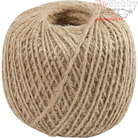 Natural Twine, thickness 2 mm, 180m