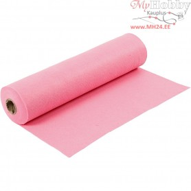 Craft Felt, W: 45 cm, thickness 1,5 mm, pink, 5m, 180-200 g/m2