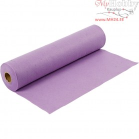 Craft Felt, W: 45 cm, thickness 1,5 mm, light purple, 5m, 180-200 g/m2